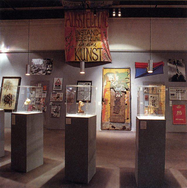 """Ausstellung """"Berlin Berlin"""", """"Blessmann-Röhre"""", 1987, Foto: Margret Nissen, Scan 26.03.18 js"""