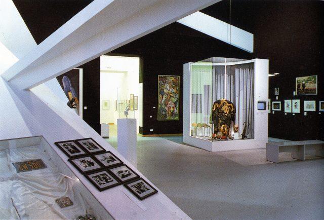"""Ausstellung """"Berlin Berlin"""", Kapitel Lunapark, 1987, Foto: Margret Nissen, Scan 26.03.18 js"""