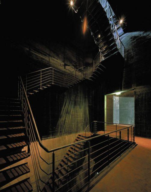 Kokerei Zollverein Mischanlage Treppenhaus im Bunker © ? CD-Archiv: ?