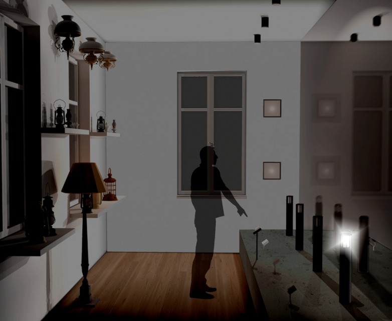 151020 Menden Raum 10 Beleuchtungsgeschichte Interaktion