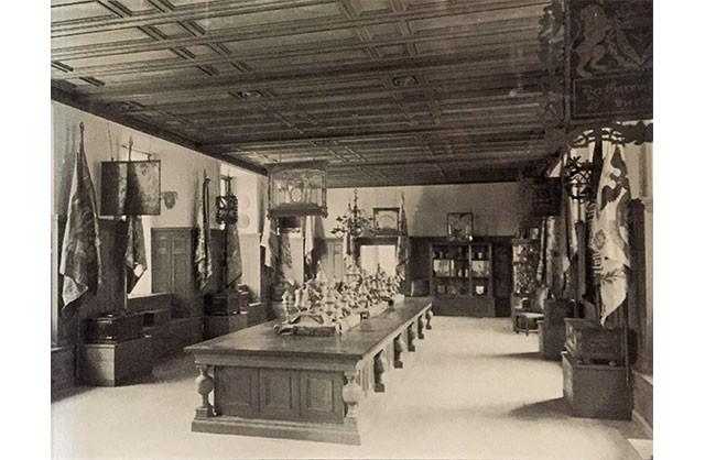 Innungssaal historische Aufnahme