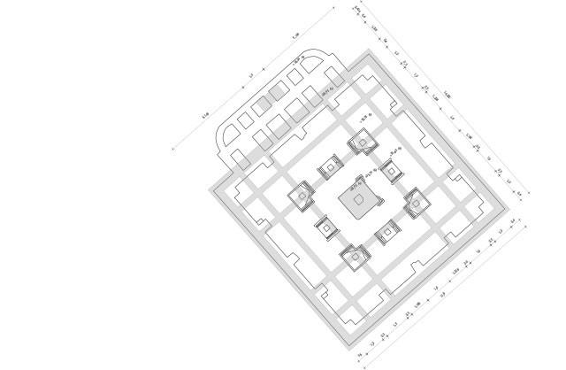 Lutherdenkmal-Grundriss-Fundament