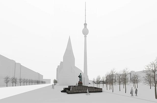 Lutherdenkmal-Stadtmodell-Daylight