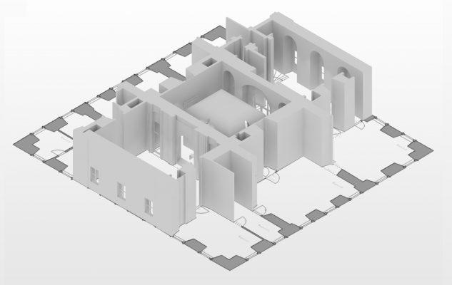 160830 Plan Isometrie Julius Pflugzimmer mit Einbau