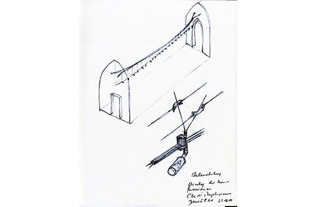 161227 Beleuchtung Christophorus-Gewölbe